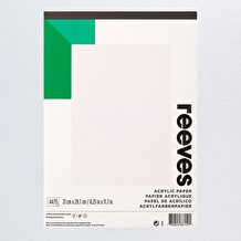 Reeves Acrylic Pad 190gsm 15 Sheets A4